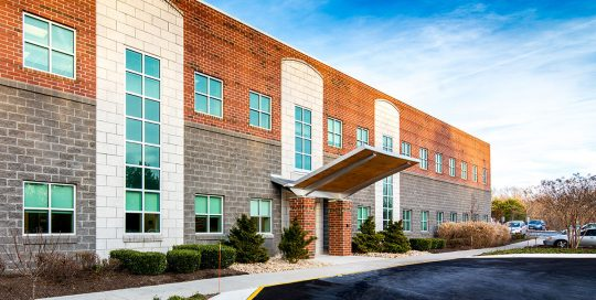 Centra-Medical-Group-Stroobants-Cardiology-Center-Renovation-Exterior-New-Rear-Entry-1
