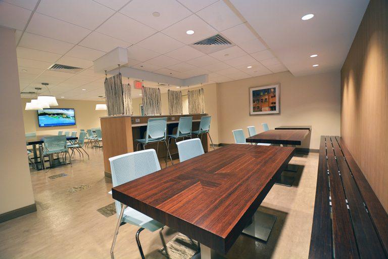 HCA dining area